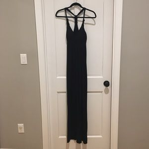 Black maxi- new without tags!
